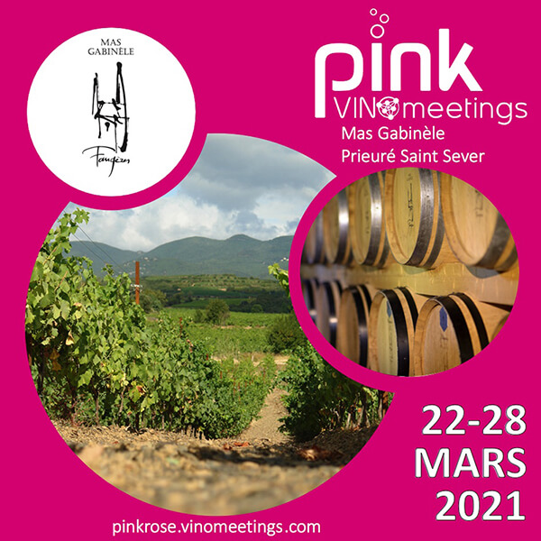 Pink Vin Meetings - du 22 au 28 mars 2021
